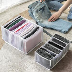 Drawer Organizer Folding Clothes Box T-shirt Jeans Leggings Closet Storage Box-