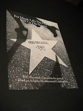 Rso Records 1980 Promo Only Advert For Music L.A.'S The Place.