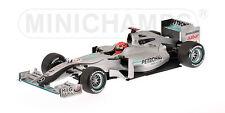 Mercedes GP Petronas showcar 2010 M.Schumacher 150100073 1/18 Minichamps