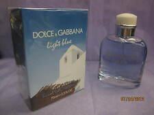 DOLCE & GABBANA LIGHT BLUE LIVING STROMBOLI 2.5 oz / 75 ML EDT Spray Sealed Box