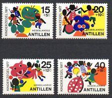 Dutch Antilles - 1977 Youth welfare Mi. 341-44 MNH