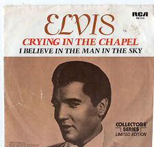 "Elvis Presley - Crying In The Chapel 7"" Single 1977"