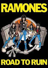 "NEW Ramones Road to Ruin Poster 85cm x 60cm 34""x24"""