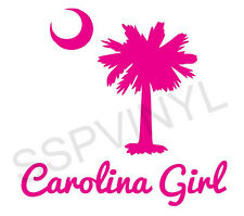CAROLINA GIRL VINYL CAR TRUCK DECAL STICKER