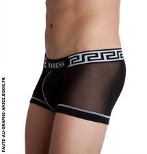 Boxer sexy fine Résille Noir HARESS Gamme TRIDENT♆ Taille L 42