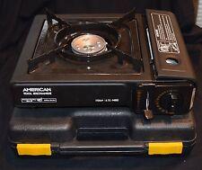 American Tool Exchange Portable Butane Burner Stove in Hard Case NEW