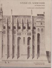 ART DE BASSE-NORMANDIE N°84 VOYAGE EN NORMANDIE THÉOPHILE GAUTIER MONT ST MICHEL