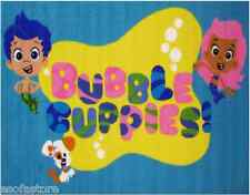 "Rugs Area Rugs 100% Nylon Carpet Bubble Guppies 39""x58"" Size Multi-Color Fun Rug"
