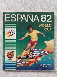 Panini Espana 82 Complete Sticker Album 1982 World Cup Maradona Rookie
