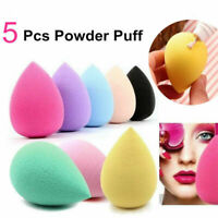 5 Pcs Makeup Blender Sponge Set Beauty Foundation Blending Flawless Buffer Puff