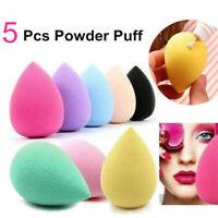 5 Pcs Makeup Blender Sponge Set Beauty Foundation Blending  Flawless Buffer Puff