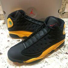 Nike Air Jordan 13 Retro Melo Class Of 2002  Black Yellow Red [414571-035] SZ 11