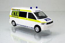 Rietze 53612 Volkswagen VW T5 GP Bus KTN Krankentransporte Nord UG Berlin 1 87