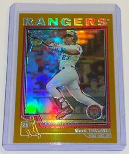 2004 Topps Chrome Gold Refractor Mark Teixeira #281 MLB Texas Rangers Baseball