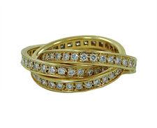"""cartier <ne translation=""""$prodspec"""" entity=""""18k"""">$prodspec</ne> yellow gold rolling trinity diamond ring size <ne translation=""""$num"""" entity=""""52"""">$num</ne> (usa approx <ne translation=""""$num"""" entity=""""6.25"""">$num</ne>)"""