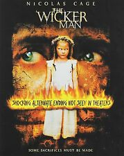 The Wicker Man, new sealed, HD DVD, Nicolas Cage