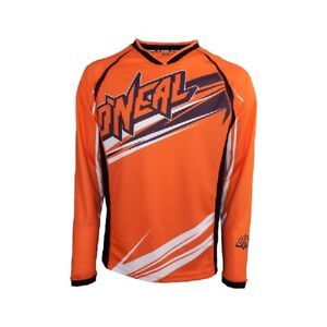 O`Neal Maniac Jersey orange   Trikot  Shirt  oneal mx Long Sleeve Enduro