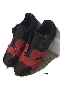 Giro Cylinder SPD BOA MTB Bike Shoes Red/Black