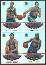 2012-13 GOLDEN STATE WARRIORS 20 Card Lot PANINI MARQUEE Team Set 12 Players