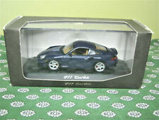 PROMO  MINICHAMPS  porsche  911  turbo  1/43