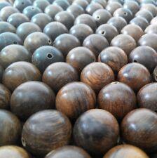 1500 Gram Dark Brown Agarwood Loose Beads Gaharu Buaya 18 mm Aloeswood