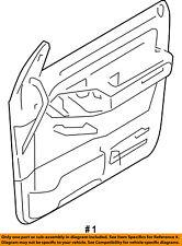 FORD OEM Explorer Sport Trac Front Door-Interior Trim Panel Left 9L2Z7823943CC