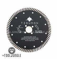 6 Inch  Diamond Turbo Saw Blade SUPER PERFORMANCE CUT Granite Stone Concrete