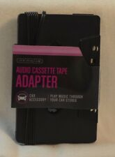NEW INFINITIVE AUDIO CASSETTE CAR ADAPTER IPOD, MP3, CD PLAYER FAST-FREE SHIP