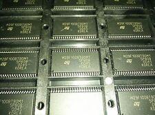 2x STM M29F100BT90M1 , 1Mb Flash Memory 64Kx16 FLASH 5V  70ns , PDSO-44