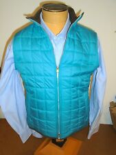 Peter Millar Seneca Lightweight Full Zip Quilted Vest NWT XL $165 Ultramarine