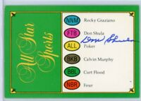 DON SHULA Autographed Signed RARE Trivial Pursuit Card - MIAMI DOLPHINS HOF AUTO