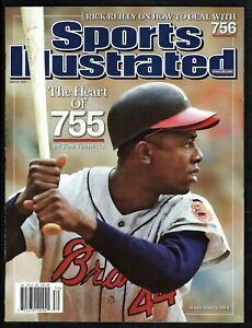 2007 SPORTS ILLUSTRATED July 23 HANK AARON #3000 No Label NEWSSTAND ISSUE - MINT