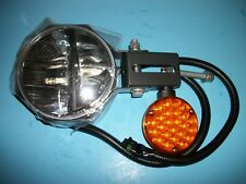 "NEW TRUCK-LITE 80988 LED SNOW PLOW LIGHT  7"" ROUND  RIGHT HAND SIDE  HEATED LENS"
