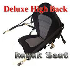 Deluxe Kayak Canoe Seat Backrest with Adjustable Straps & Snap Hook