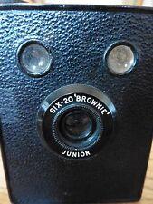 Kodak Brownie SIX-20 Junior, hecho en Gran Bretaña, en Caja Original