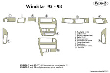 FORD WINDSTAR 1998 DASH TRIM KIT b