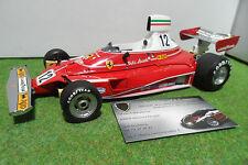 F1 FERRARI 312 T Winner 1975 GP MONACO NIKI LAUDA au 1/18  EXOTO 97050 formule 1