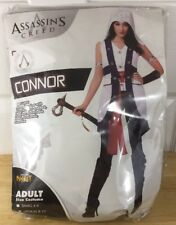 Assassins Creed Connor Costume New Large 12-14 Complete Set Cosplay Halloween