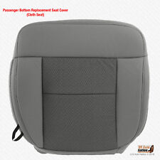 2004 - 2006 Ford F150 Passenger Bottom Flint Gray Cloth Replacement Seat Cover
