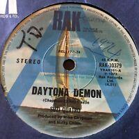 "SUZI QUATRO...DAYTONA DEMON - - Rare 1974 Australian Radio Station A PROMO 7"""