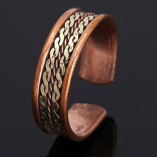Copper Magnetic Tibetan Medicine Ring Adjustable Ring With Pure Copper