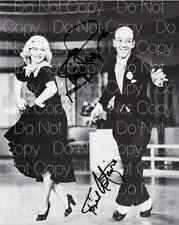 Fred Astaire & Ginger Rogers signed 8X10 photo picture poster autograph RP