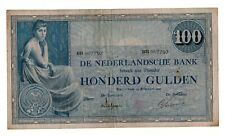 Netherlands 100 Gulden 1921 (116-3b) P39