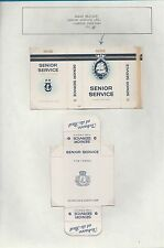 Old EMPTY cigarette packet + slide different variety for 9 only.   #637