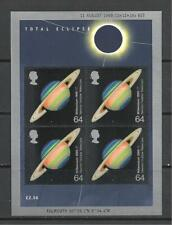 Qe2 1999 Total Eclipse Miniature Sheet Ms2106 Never Hinged Mint
