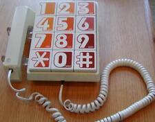 Vintage Western Electric Bell Retro Push Big Button Desk Telephone