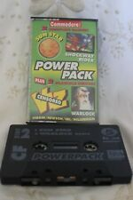 Commodore 64/128 Video game Power Pack cassette