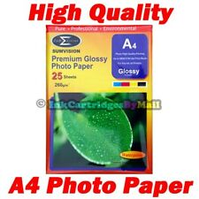 25 Sheets High Quality Premium Glossy A4 260gsm Gloss Photo Paper