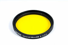 Tiffen 52mm Yellow 2 (8) Filter Creative tool in Color Imaging - EX