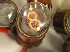 6 PCS/LOT Vintage SMALL FINE GRID NIXIE TUBE IN-1 TESTED NOS
